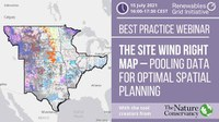 Best Practice Webinar: Introducing the Site Wind Right map – pooling data for optimal spatial planning