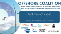 Launch of the Coalition for Offshore Energy and Nature (OCEaN)