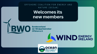 The Offshore Coalition for Energy and Nature (OCEaN) welcomes two new Members